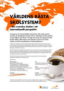 Inbjudan | Världens bästa skolsystem?