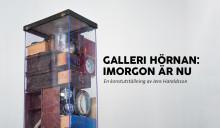 """Invigning av """"Galleri Hörnan"""" på Örebro Teater – Jens Haraldsson tolkar """"Imorgon är nu"""""""
