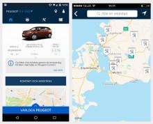 MyPeugeot - få full koll på ditt bilkörande med ny app