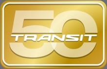 Ford Transit fejrer et halvt århundrede i førersædet for europæisk erhvervsliv
