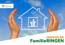 Invitation til indvielse af FamilieRINGEN