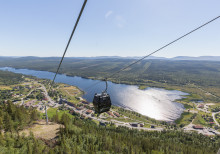 Invigning av ny världsunik samisk park högst uppe på Funäsdalsberget