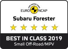 Euro NCAP: Subaru Forester e-Boxer luokkansa turvallisin