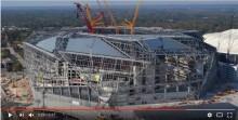 Video: Timelapse of Mercedes-Benz stadium construction