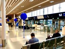 Nya delen av avgångshallen på Bromma Stockholm Airport öppnad
