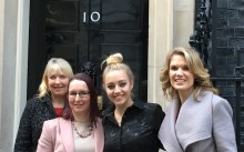 ellenor invited to 10 Downing Street to mark Local Charities Day