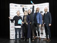 Dubbla priser till gotländska arkitekter vid Arkitektgalan