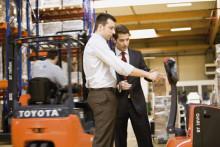 Svensk lansering av Toyota I_Site på Logistik & Transport