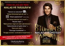 Fira Jul med Niklas Strömstedt på Trädgår'n i Göteborg med showen Storhetsvansinne