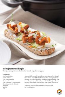 Recept: Höstig kantarellsmörgås