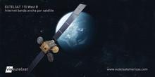 Velconet elige EUTELSAT 115 West B para llevar banda ancha satelital al Cono Sur