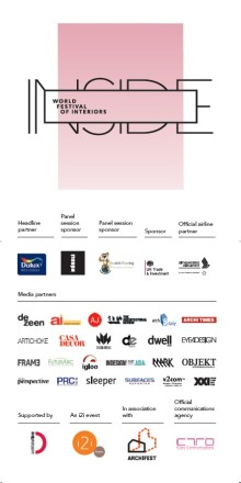Evorich Being One of the Co Sponsor For Inside World Architectural Festival 2013