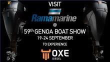 Visit RAMA MOTORI SPA at Genoa Boat Show 19th to 24th September