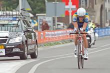Marcus Fåglum-Karlsson 12:a i inledande tempoloppet vid VM i Holland