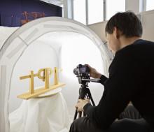 Teknikhistoriska skatter 3D-scannas