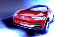 Frankfurtsalongen: Volkswagen visar ny version av elbilskonceptet I.D. CROZZ