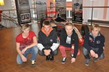 Fem förare i nya racinglandslaget