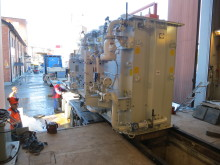 Ny transformator på plats i Domsjö kraftcentral