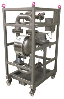 Tapflo levererer membranpump för tillämpningar inom kärnkraftsindustrin.