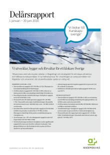 Delårsrapport 1 januari - 30 juni 2016