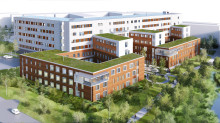 Assemblin installerar i Sveriges största passivhus