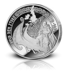Vikingekongen Knud den Store mindes med medalje