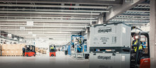 ebm-papst har invigt ett nytt logistikcenter
