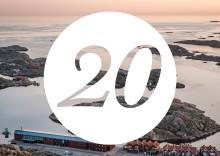 Nordiska Akvarellmuseet firar 20 år hela 2020