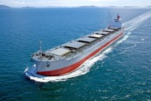 "Delivered the Group's 215th ""KAMSARMAX"" Bulk Carrier - TSUNEISHI SHIPBUILDING Co., Ltd."