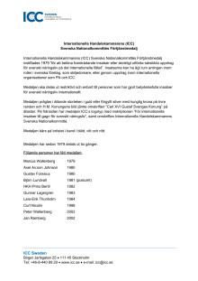 ICC:s förtjänstmedalj