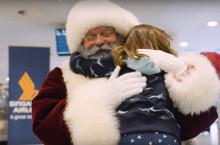 Se Singapore Airlines skabe et magisk juleøjeblik for sine passagerer