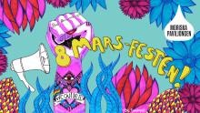 Stor 8-mars fest på Moriska Paviljongen