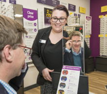 Local MP is guest of honour at opening of new Winchester optician