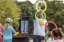Nycirkus för barn och unga i hela Lund