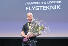 David Petersson vann Yrkes-SM i Flygteknik