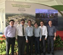 Surbana Jurong's M&E Engineering team marks key milestone for Singapore's Woodlands Health Campus