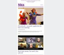 Årets första nyhetsbrev från Nka