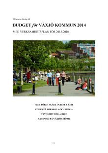 Alliansens budget 2014