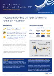 UK Consumer Spending Index - November 2018