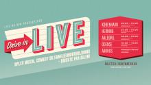 Yderligere 3 stærke danske navne på 'Drive In - Live' touren