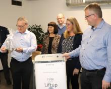 Rebild Kommunes handicappris 2018 uddelt til virksomheden Liftup