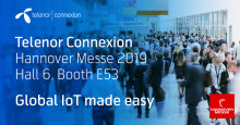 "Telenor Connexion showcases ""IoT made easy"" for manufacturers at Hannover Messe 2019"