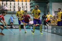 Sverige slog Slovakien med 11-4 i sin fjärde och sista match under VM-kvalet i Nitra.