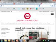 Alla branschgodkända tätskiktsprodukter listas på www.gvk.se