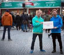 OLW skänker 10 000 kr till Musikhjälpen