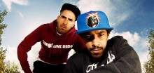 Hiphopduon Näääk & Nimo avslutar Kulturnatten tillsammans med DJ Black Moose på Streetplazan i Kristianstad
