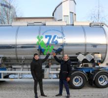 Wibax har investerat i Sveriges första 74-tons tankbil för transport av biooljor