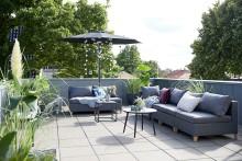 Hög efterfrågan på trädgårdsmöbler i sommarvärmen