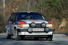 Oplev Audi 80 i aktion til Munkebjerg Hillclimb