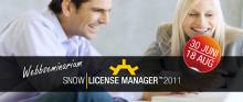 Webbseminarium: Nyheter i Snow License Manager 2011